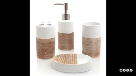 brown and white bathroom accessories brown and white bathroom accessories youtube