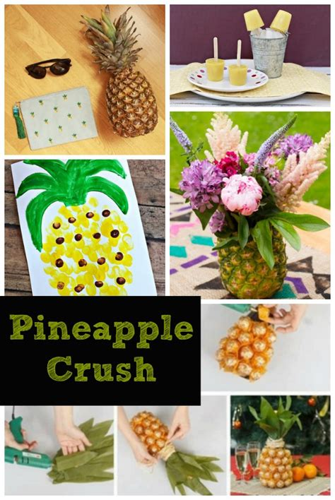 Kitchen Towel Craft Ideas by Pineapple Crush Free Pineapple Applique The Sewing Loft