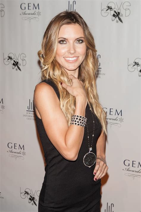 Audrina Patridge Gets A New by Audrina Patridge At 12th Annual Gem Awards In New York