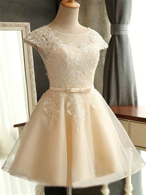 short homecoming dress cute homecoming dresssimple lace