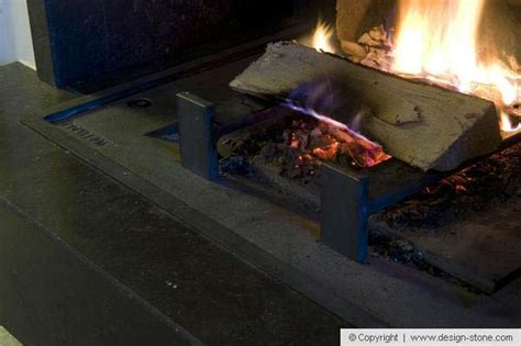 cheminee ouverte avec recuperateur chaleur cheminee contemporaine design marbre belgique