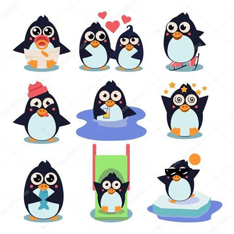 Pinguin Set penguin set vector illustration archivo im 225 genes