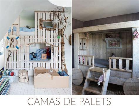 decorar con muebles recuperados ideas decoracion palets camas deco kids muebles