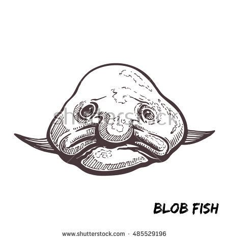 blob fish coloring page blob fish coloring pages coloring pages