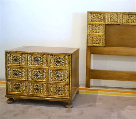 1960s Bedroom Furniture 1960s Widdicomb King Bedroom Set At 1stdibs