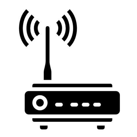Antena Router icono antena doble en linea router wifi