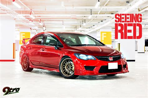 Honda Motorradzubeh R Online Shop by Honda Civic Type R Seeing Red 9tro