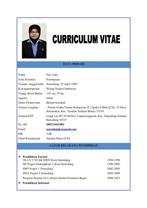 download format cv lengkap 15 contoh curriculum vitae ben jobs