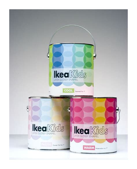 ikea house packages ikea kids paint the dieline packaging branding