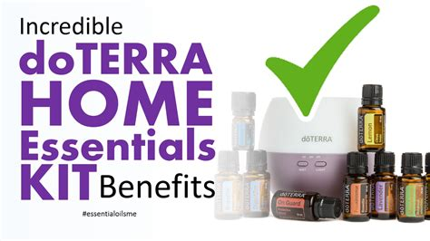 doterra home essentials kit benefits