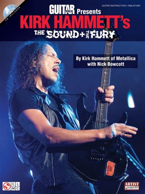 libro the sound and the noticia kirk hammett lanzara quot the sound and the fury quot paquete de cd y libro educativo