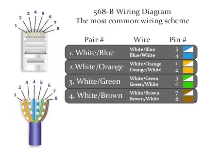 cat6 568b wiring diagram efcaviation