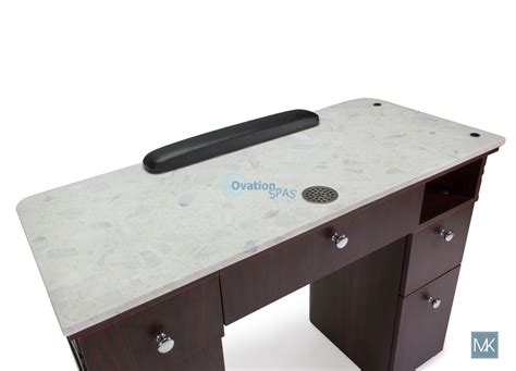 manicure tables with ventilation vent nail table