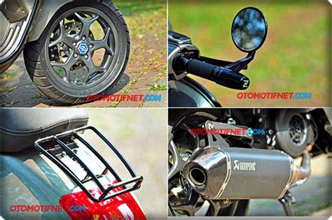 Modifikasi Vespa Jadi Mobil by Modifikasi Elegan Vespa Gts 150 3vie Dengan Pelek Piaggio