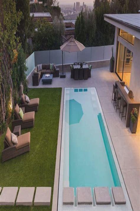 backyard lap pool amazing lap pool italian modern lawn concrete steps