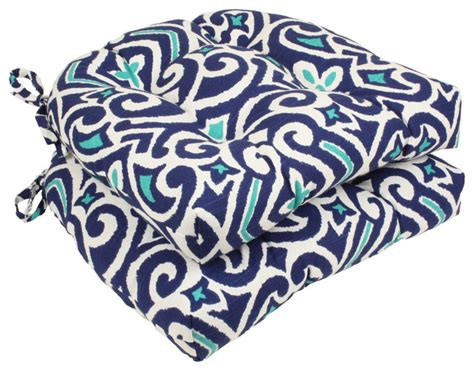 pillow perfect   damask reversible chair pad