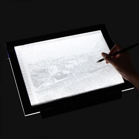 craft light box for tracing a3 a4 led slim craft drawing tracing light box