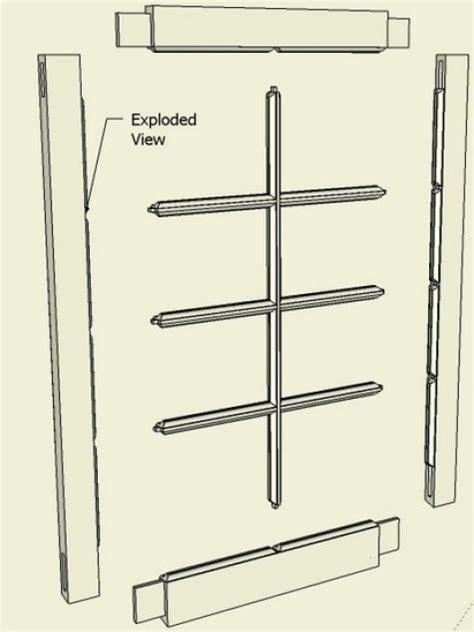 make window making a window sash or breakfront cabinet door