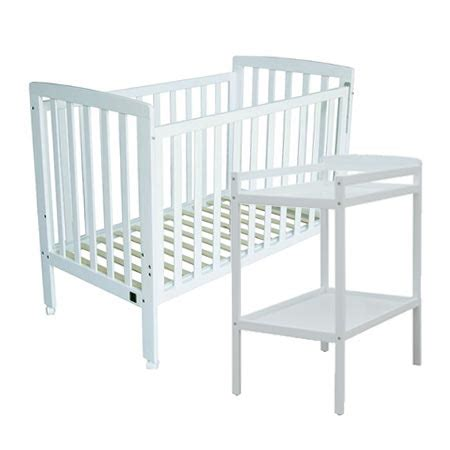 Cots And Change Tables Cot And Change Table Package Nursery Baby Cot With Mattress Plus 4 Drawer Change Table
