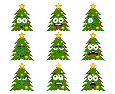 free cartoon christmas tree vector vector art graphics