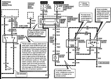 2001 ford taurus wiring schematics wiring diagram with