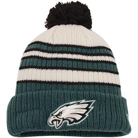 philadelphia eagles knit hat new era philadelphia eagles midnight green traditional