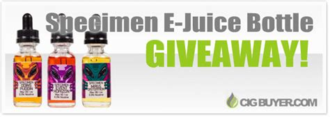 E Juice Giveaway - dfw speciment e juice giveaway ended cig buyer com