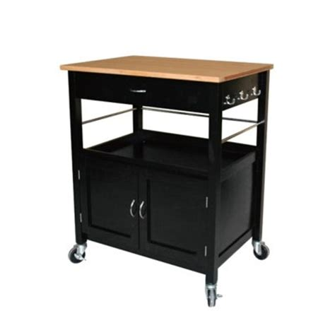 kitchen island cart ehemco kitchen island cart with butcher block