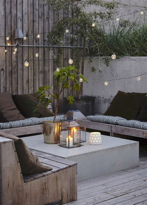 patio table lights outdoor patio string lights backyard ideas