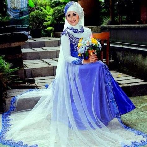 desain gaun syari 25 desain gaun pengantin syar i paling modis tahun ini