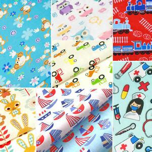 fabric crafts baby childrens fabric quarters baby polycotton