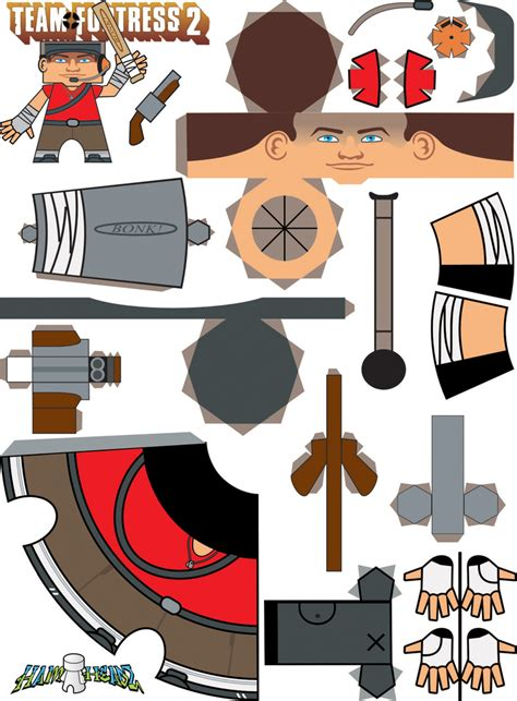 Team Fortress 2 Papercraft - steam community guide tf2 paper models