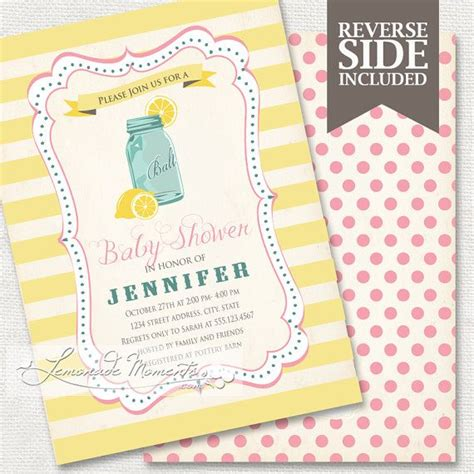 Lemonade For Baby Shower by 33 Best Images About Pink Lemonade Baby Shower On