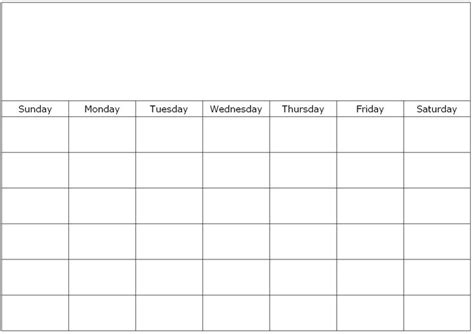 blank monthly school calendars free printable 1 month calendar you can find this