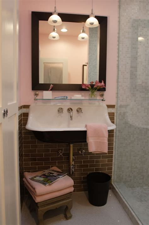 red and gray bathroom pink and gray bathroom contemporary bathroom