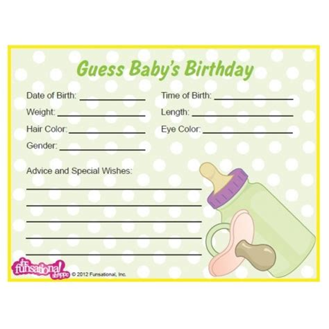 guess the weight of the baby template best photos of baby guessing free printable baby
