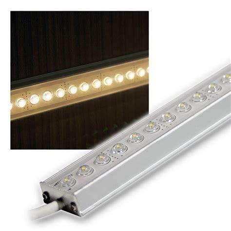 led lichtleiste alu led lichtleiste warm wei 223 100cm 12v dc design