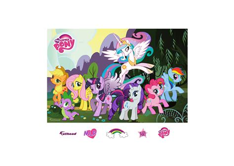 my pony wall mural my pony mural wall decal shop fathead 174 for my