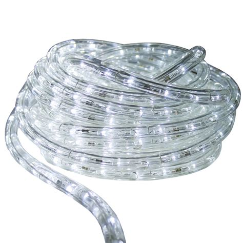 12v led dimmable cool white rope light 50ft ledropekits