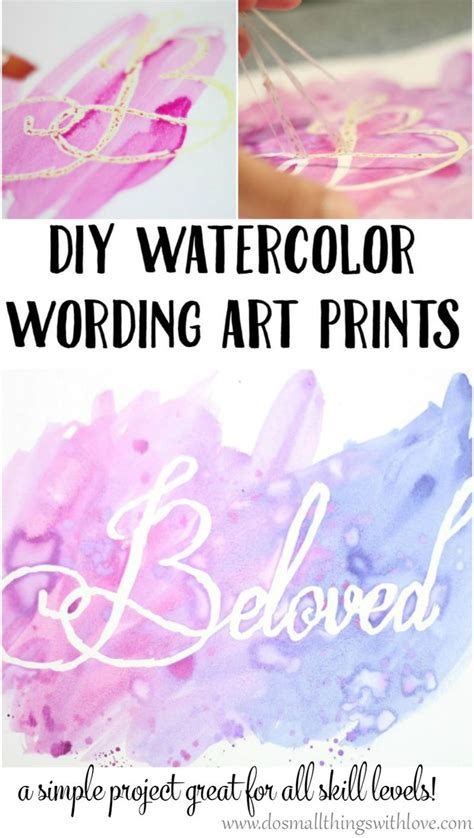 watercolour quotes tutorial best 20 word art ideas on pinterest