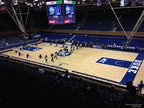 section 16 a cameron indoor stadium section 16 rateyourseats com