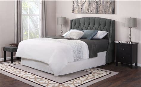 beds with cushioned headboards fabric headboard king bed perfect upholstered king size