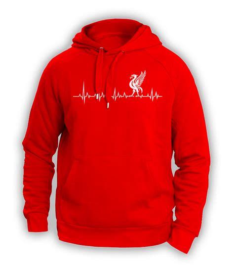 Sweater Hoodie Liverpool Jumper Putih buy printed hoodies liverpool fc heartbeat hoody