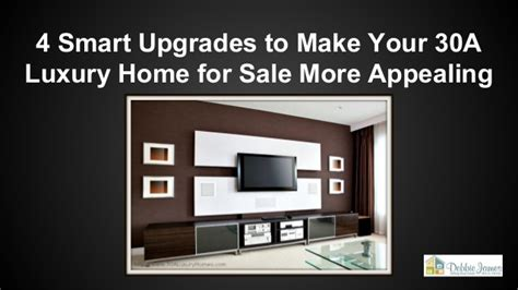 4 smart upgrades to make your 30a luxury home for sale