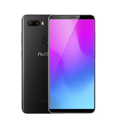 Smartphone 7 Inch nubia z18mini 5 7 inch 6gb 64gb smartphone black