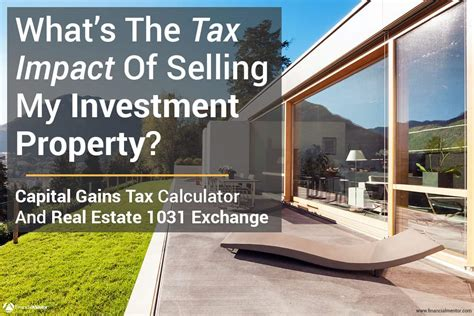 capital gains tax calculator real estate 1031 exchange