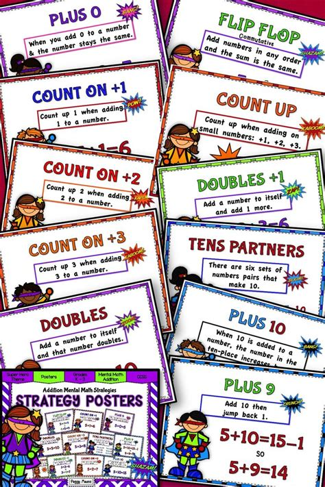 beating the odds using math as a strategy to win at hold em books addition mental math strategy posters theme