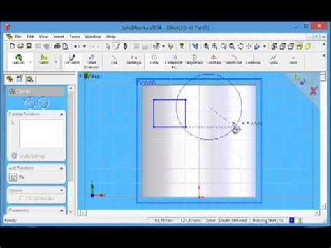 solidworks tutorial wrap one minute solidworks 2004 tutorial wrap youtube