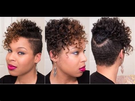 how to grow short hair with shaved sides 9 natural hairstyle bantu knot out tutorial super