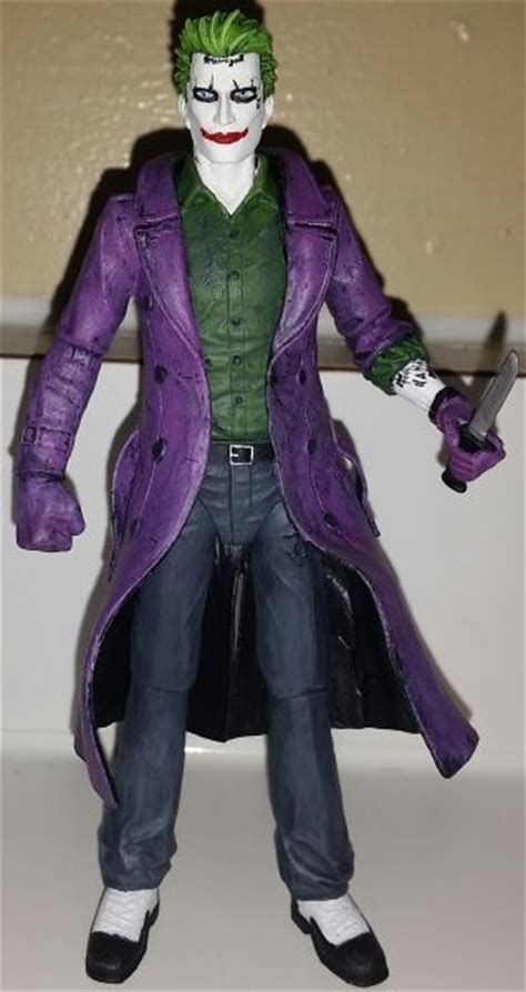 figure joker the joker jared leto inspired batman style